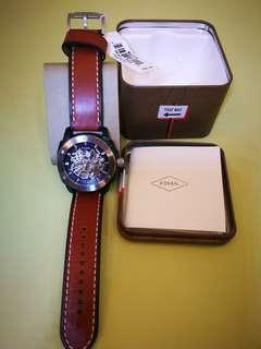 Fossil Leather Watch Automatic