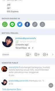 TESTI MY LOVELY CUSTOMER ❤️
