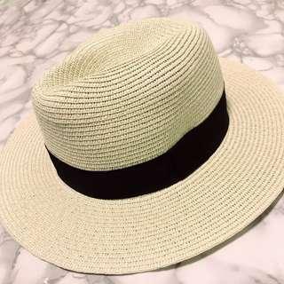 🚚 「全新」「紳士帽款編織草帽」