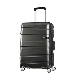 (現貨一件) AMERICAN TOURISTER HS MV+ Deluxe Suitcase / Luggage 69cm - Black (行李箱)