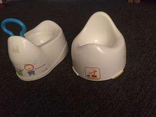 MOTHERCARE Potty Training &  PUKU Potty Training not ikea