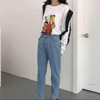🚚 BN Uniqlo inspired Sesame Street Pullover