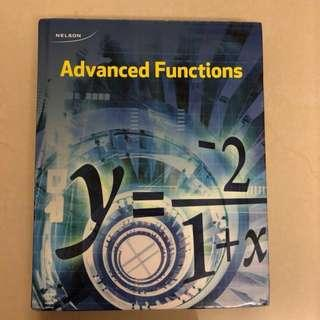 Nelson Advanced Functions (Grade12) Hardcover