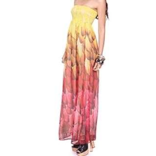 Forever 21 Ombre Maxi Dress