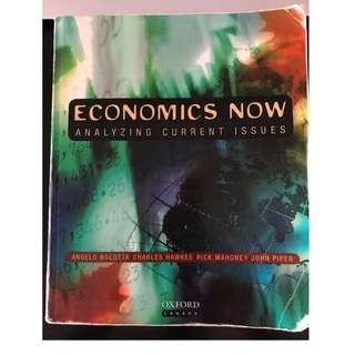 Economics Now Analyzing Current Issues