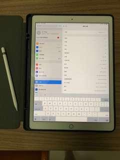 LTE - iPad Pro 12.9 gold. 512G + used apple pen (保養至 Apirl2019)