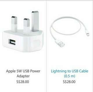 Brand New Apple Iphone Charger