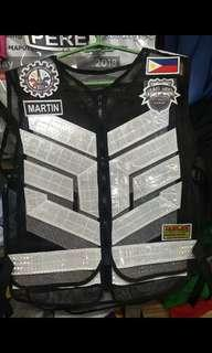 Riders vest made to order