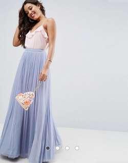 ASOS Tulle Maxi Ball Skirt ⚡️ Size 10