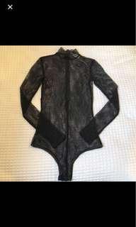 Tigermist mesh bodysuit