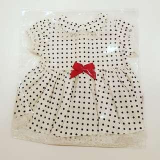 Polka Dots Mini Clothes for bears & dolls