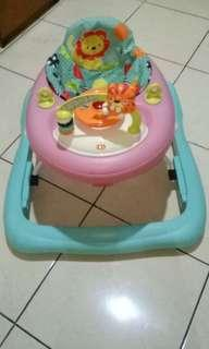 Bright Start Roaming Safari Babywalker
