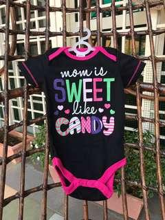 Cute Baby Girl Jumpsuit with catchy phrase