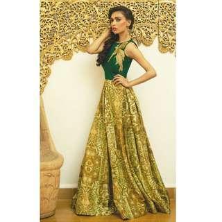 🚚 Bhagalpuri Designer Gown