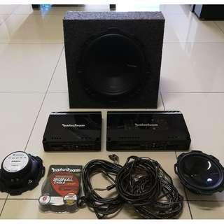 Rockford Fosgate AMP & Sub For Sale