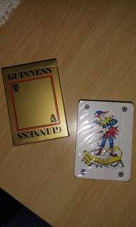BN playing cards by Guinness