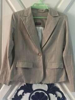 Pinstripe pants suit set - free shipping
