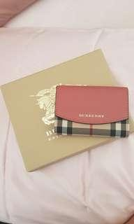 Burberry horseferry card holder