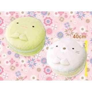 [INSTOCKS] TOREBA Sumikkogurashi - Squishy Macaron Cushion Plushie