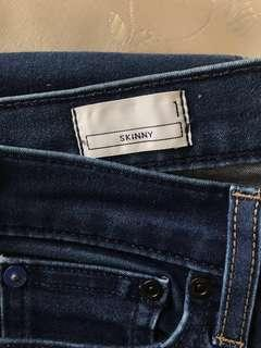 100% real & new Gap 1969 skinny jeans
