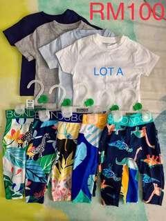 Bonds baby shirt lot