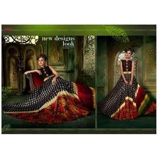 🚚 Multicolor Indian Deisgner Gown