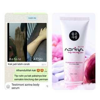 Azrina whitening bodyserum
