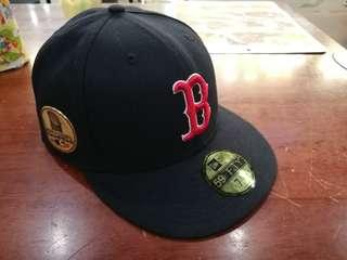 [Brand New] New Era 59Fifty Red Sox Cap 2018 7 5/8 Champion Patch