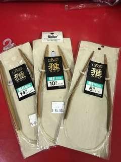 日本高山竹織針半價