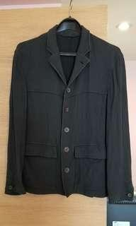 Hugo Hugo Boss 黑色薄外套 Vintage Jacket Summer Wear