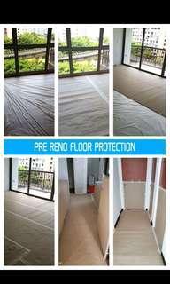Pre Reno Floor protection services