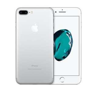 🚚 iPhone 7 Plus Silver 256GB