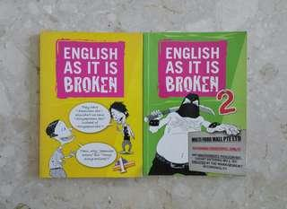🚚 English As It is Broken (2 books)