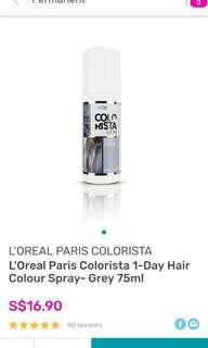 (INSTOCK) L'oreal Colorista Spray In Grey and Lavender