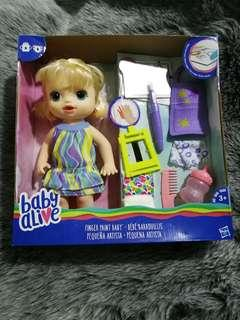 New Baby Alive Fingerpaint Baby #SparkJoyChallenge