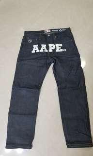 Aape Jeans 牛仔褲 pants rin unwashed