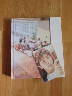 [ wts ] bts exhibition book + postcards