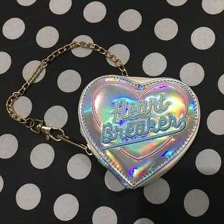 Hologram Heart Coin Purse