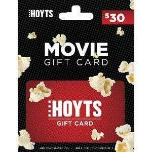 $30 Hoyts Gift Card UNUSED [Price negotiable]