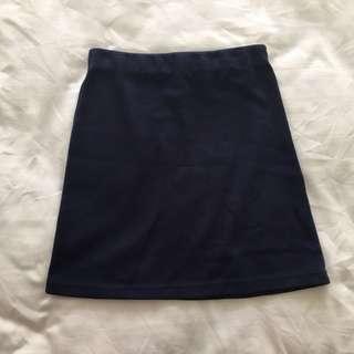 🚚 Navy Skirt