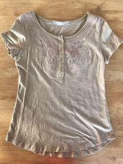 CLN embroidered top
