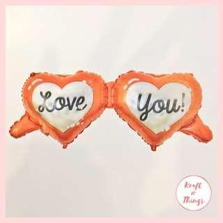 Love You Heart Balloon