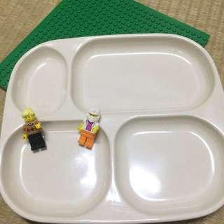 🌈餐廳可用 兒童四格餐盤 12入