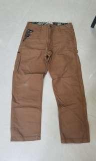 Aape Worker Pants 長褲 卡奇色 Loose Fit