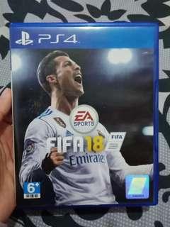 FIFA 18 Kaset PS4