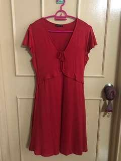 Cotton On Red Dress (NEW)