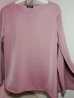 Dusty Pink Blouse #Carousellfaster