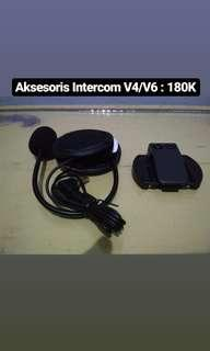 Aksesoris Intercom V4/V6 Speaker Mic Bracket Intercom