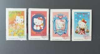 Hello Kitty Cafe電話咭四張