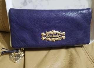 #限時特價 🈹Salad Purple Leather Wallet (until 22March)